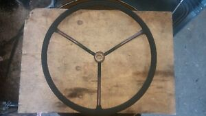 Early 60 s Ford 671 Select o speed Farm Tractor Steering Wheel