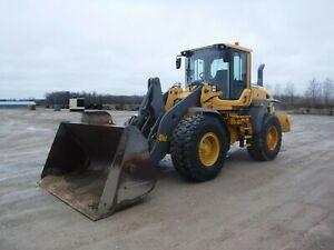 2013 Volvo L90g Wheel Loader With Only 3896 Hours