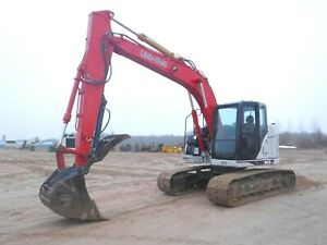 2014 Link Belt 145x3 Spin Ace Track Excavator With Only 3134 Hours