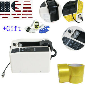 Electric Automatic Tape Dispensers Adhesive Tape Cutting Cutter Packaging De