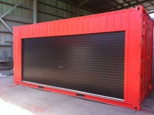 Shipping Container Kiosk Concession Stand 16 Ft Roll up Door 160 Sq Ft