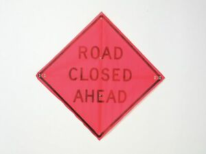 Usa sign Road Traffic Control Mesh 36 X 36 C 36 emo 3fh hd Road Closed