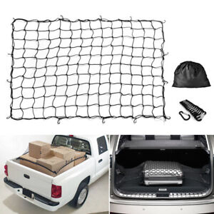 7 x5 To14 x10 Heavy Duty Car Trunk Cargo Net Load Tight Storage Mesh Universal