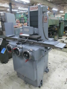 Brown Sharpe 618 Micromaster 230v 3ph Surface Grinder W os Walker Chuck