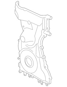 Genuine Ford Timing Cover 1l5z 6019 aa