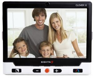 Looky 10 Hd Color Video Magnifier Portable Low Vision Hookup To Tv