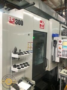 Haas Ec 300 20 X 18 Y 14 Z Cnc Horizontal Machining Center New 2013