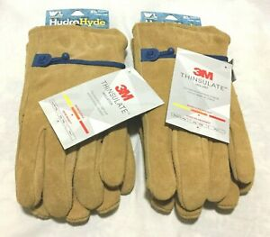 Wells Lamont Leather Winter 3m Thinsulate Insulated Gloves X Large 2 Pack