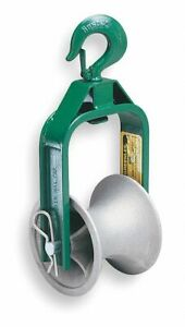Greenlee Roller 6 Dia X 5 Width Cable Puller Sheave For Use With Any Cable