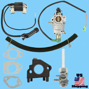 Powermate Carburetor W Solenoid Petcock Coil For Pm0106507 Pc0106507 Generator