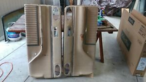 1966 Ford Thunderbird Landau L R Door Panels