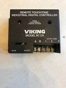 Viking Electronics Rc 2a Remote Touch Tone Industrial Digital Controller