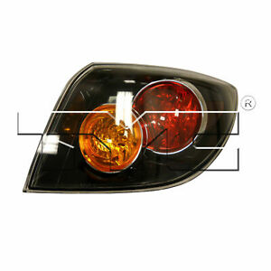 For 2004 2006 Mazda 3 S Hatchback Passenger Right Side Rear Taillight Lamp sale