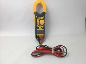 Ideal 61 744 600 Amp Clamp pro Clamp Meter Tested Working Electrical Tester