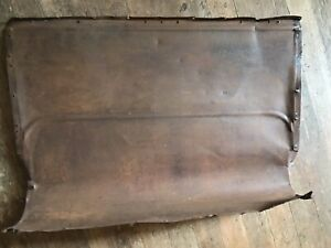 15 16 17 18 19 20 21 22 Model T Roadster Seat Back Body Panel Low Turtle Deck