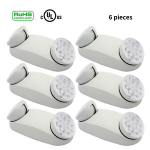 Led Ultra Bright Emergency Exit Light Adjustable Standard Round Head Indoor lamp