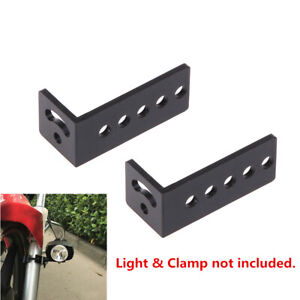 2x Roof Rack Mounting Bracket For Car Jeep Truck Led Spot Head Light Bar Clamp