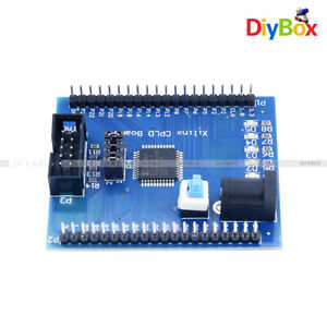 Xilinx Xc9572xl Cpld Ams Development Learning Test Board And 4 Programm Led