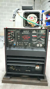 Lincoln Tig 300 Ac dc Water Cooled Tig Welder
