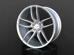 Inovit Vector Wheels 20x8 5 10 5x114 3 Silver For Ford Mustang Gt Ecoboost 5 0