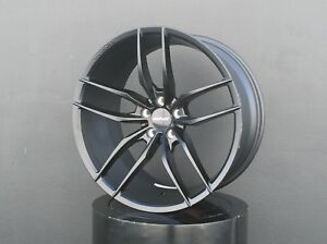 Inovit Vector Wheels 20x8 5 10 5x114 3 Black For Ford Mustang Gt Ecoboost 5 0