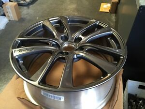 Genuine Honda Hpd Hfp Wheels 18x7 5 Civic Crz Accord 5 Lug Gunmetal Enkei Rims