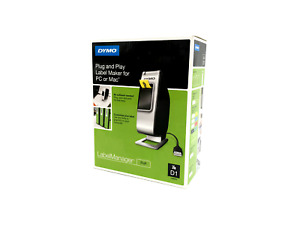 New Dymo Plug And Play Label Maker For Pc Or Mac Labelmanager Pnp 7488