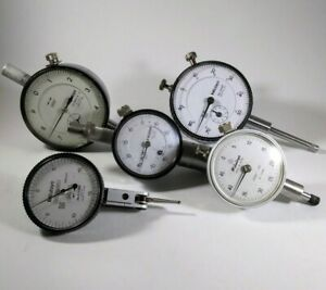 Mitutoyo Dial And Test Indicator Bundle Clean And Solid
