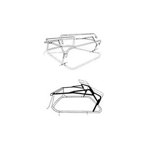 Universal Top Iron Set Universal Type Steel Ford Roadster 32 53498 1