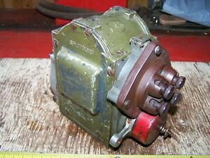 Old Splitdorf Dixie 46 t Tractor Hit Miss Engine Magneto Steam Oiler Farm Hot