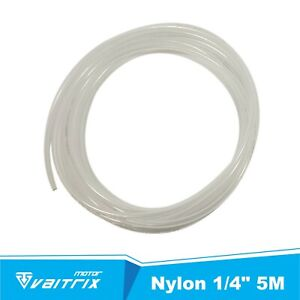 Nylon Hose Tube Tubing Transparent 1 4 5m Water Methanol Alcohol Injection