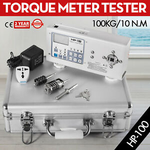1pc New High Quality Digital Hios Hp 100 Torque Meter Tester