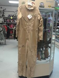 Dupont Nomex Iiia Flame Resistant Coverall Khaki 42 Tall new