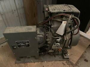 Martin Yanmar Diesel Generator Set 3 5kw 3500 Watts 120v 1p Single Phase 3500w