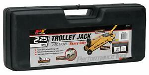 Performance Tool W1611 2 25 Ton 4 500 Lbs Capacity Trolley Jack With Case