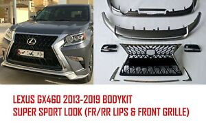 Super Sport Look Bodykit For Lexus Gx460 2013 2019 Painted