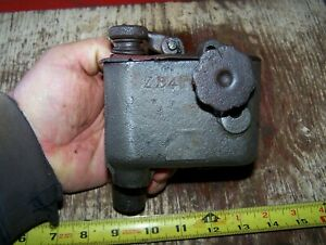 Old Fairbanks Morse 3hp Z Early Fuel Mixer Carburetor Hit Miss Gas Engine Nice