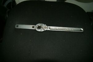 Armstrong Sa 51 Ratchet Rare With J w Williams B 58 Torque Measurre Inch