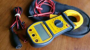 Ideal 61 720 Digisnap 1000 Amp Clamp Meter W Case Used