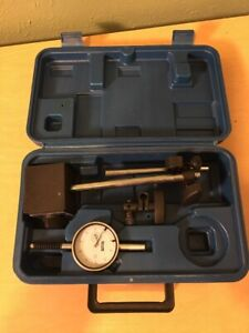Fowler Dial Indicator Gauge With Arm Magnetic Base Case