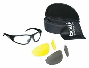 Bolle Safety Rogue Anti fog Scratch resistant Ballistic Safety Glasses