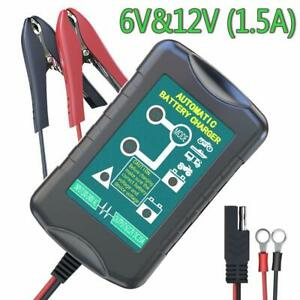 Lst Trickle Battery Charger Automatic Maintainer 6v 12v Portable Smart Float