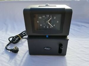 Nice Lathem Time Recorder Model 2121 Time Clock With Key