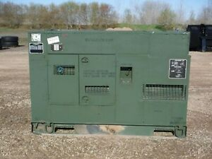 2006 John Deere Mep806b 60kw Diesel Generator With Only 4775 Hours