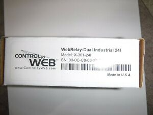 4 Brand New Control By Web X 301 24i Dual Relay