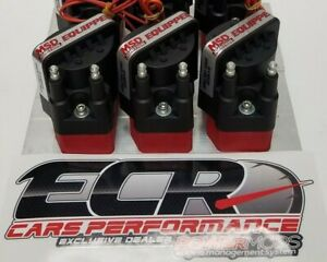 High Performance Coil Pack For 6 Cyl wasted Spark Coil Msd Interface Block