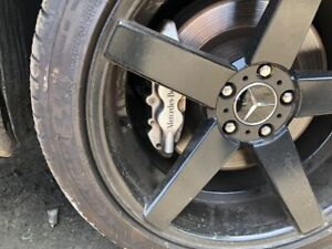 03 06 Mercedes S600 S55 Cls55 Sl55 Sl600 Amg Rear Brembo Brake Calipers