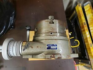 Yuasa International 595 008 8 chuck 24 Position Indexing Increment Rotary Table