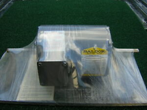 New Baldor 3450 Rpm Double Shaft Electric Motor 5hp 208 230 460 V