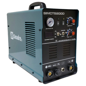 Plasma Cutter 50a Simadre 110 220v 5200d 200a Tig Arc Mma Welder Powerful Torch